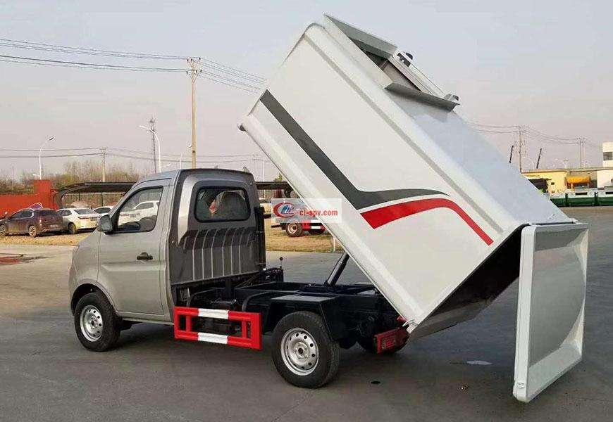 长安侧挂桶自装卸式垃圾车