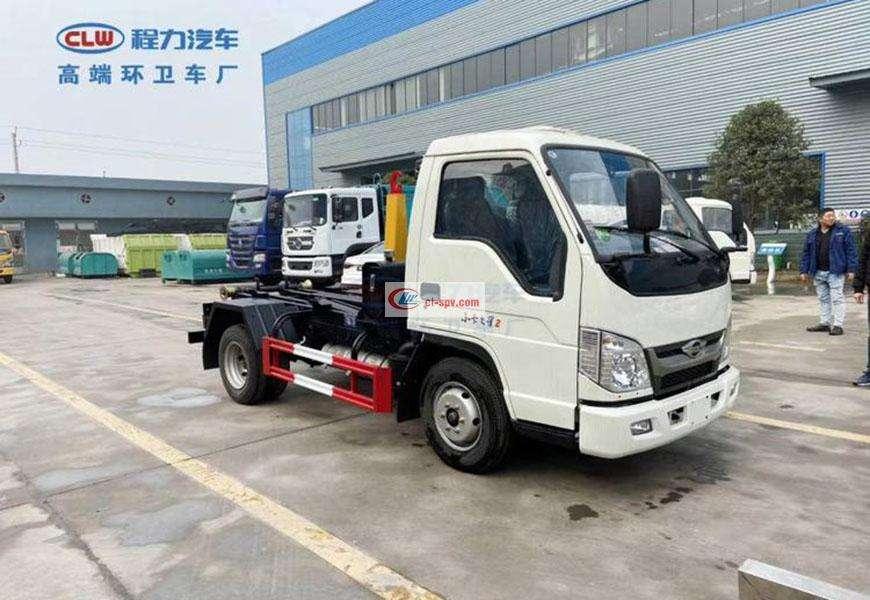 Foton Small Card Star 3 Hook Arm Garbage Truck 3 Fang Guo Liu