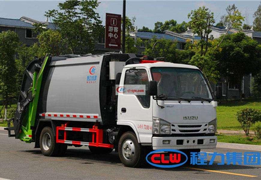 Isuzu 6方压缩垃圾车