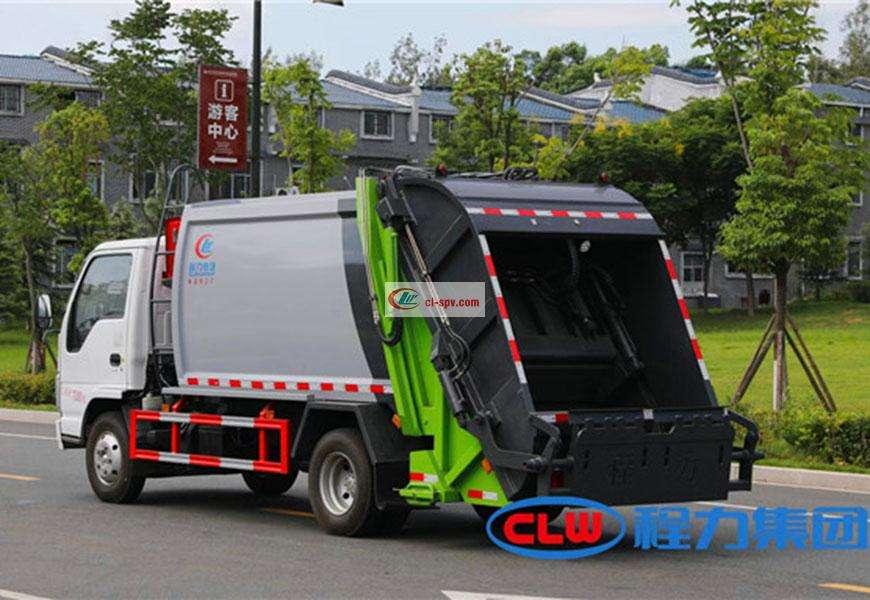 Isuzu 6方压缩垃圾车图片