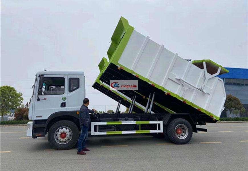 东风多利卡D9对接式垃圾车图片