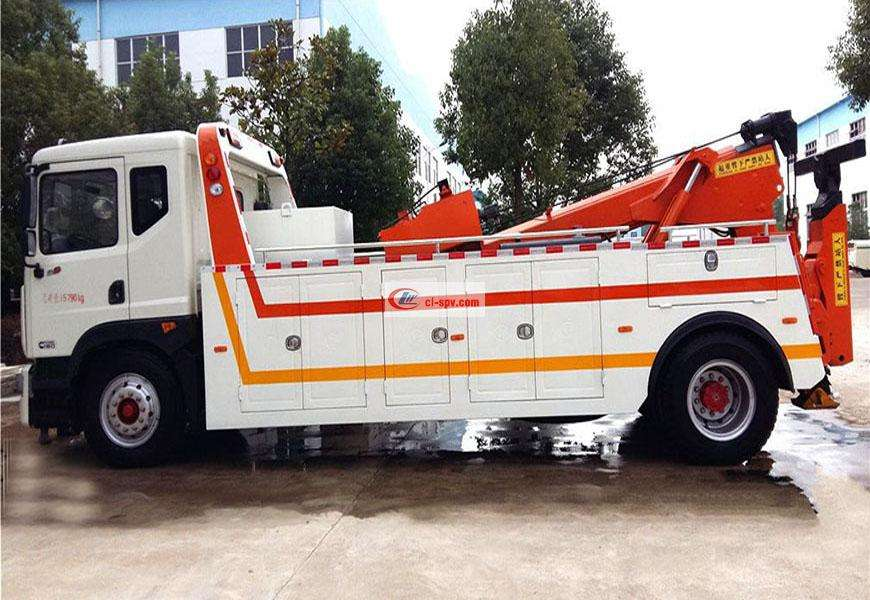 Dongfeng D9 CLW5162TQZD5 one-to-one wrecker truck