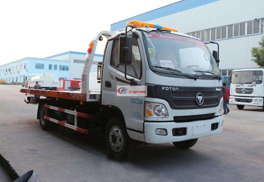Foton Omark CLW5080TQZB5 one tow two wrecker truck