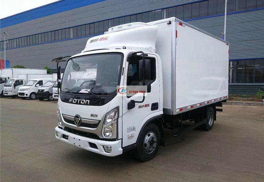 Foton Aoling MRT refrigerated truck National VI