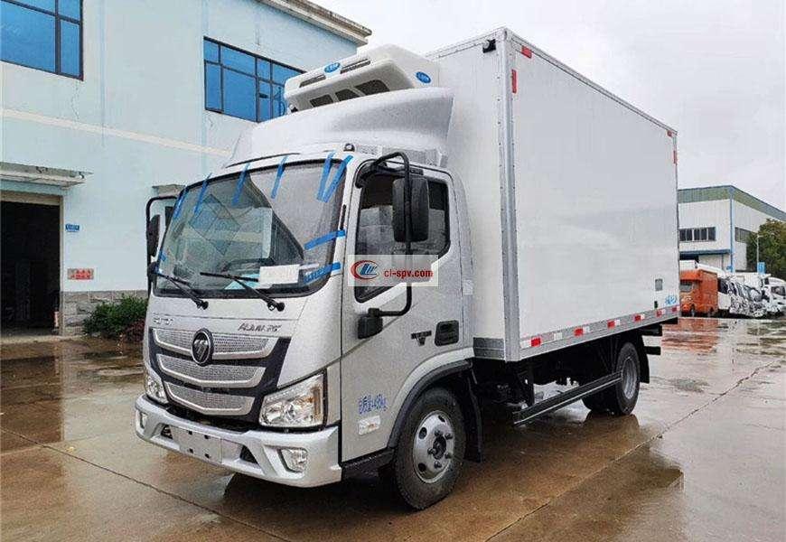Foton Omark refrigerated truck National VI