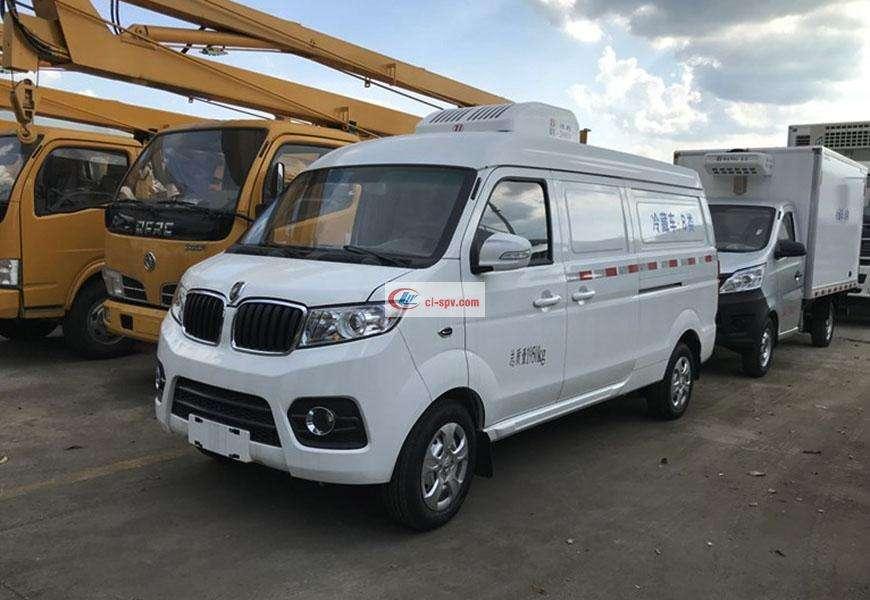 Jinbei X30L bread refrigerated truck National VI
