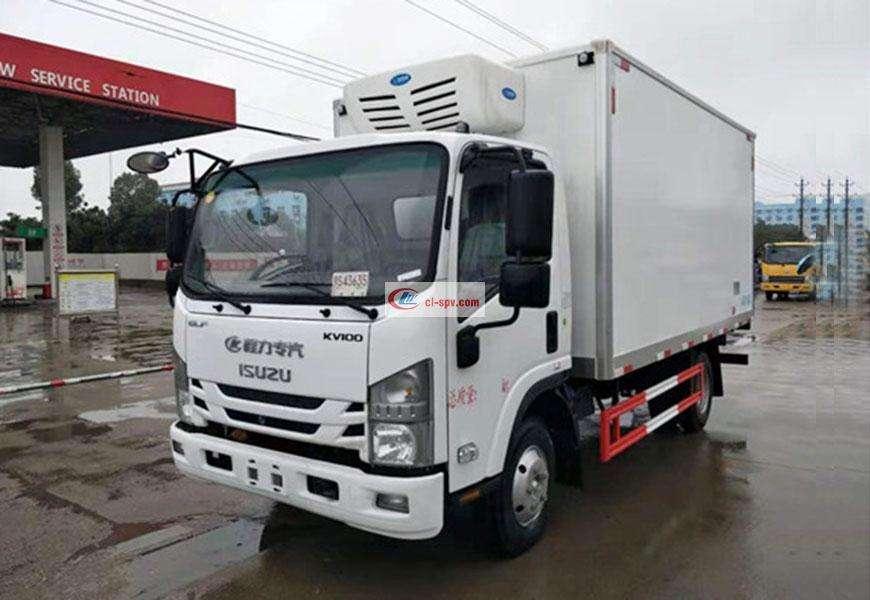 Isuzu KV100 refrigerated truck National VI