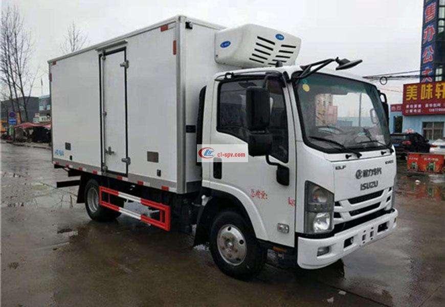 五十铃KV100冷藏车图片