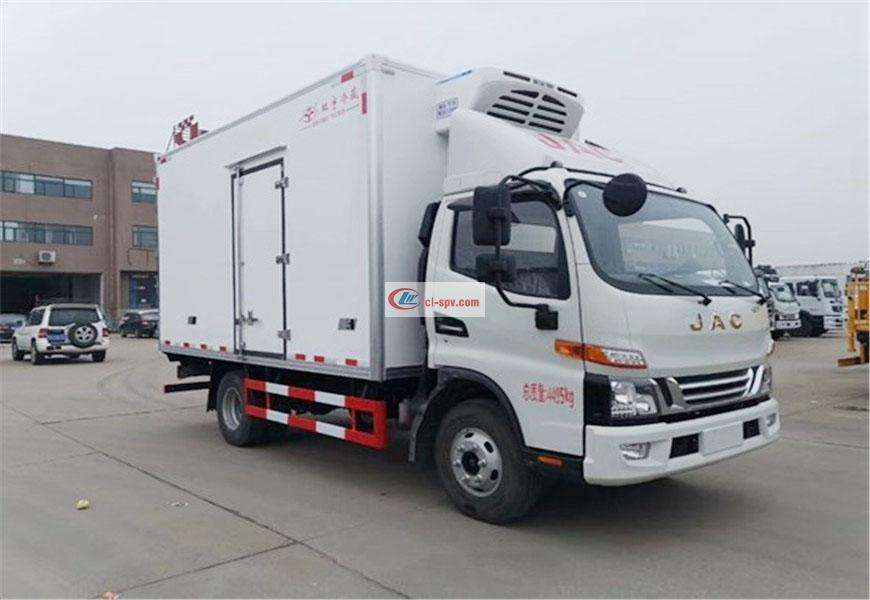 JAC Junling V6 refrigerated truck National VI