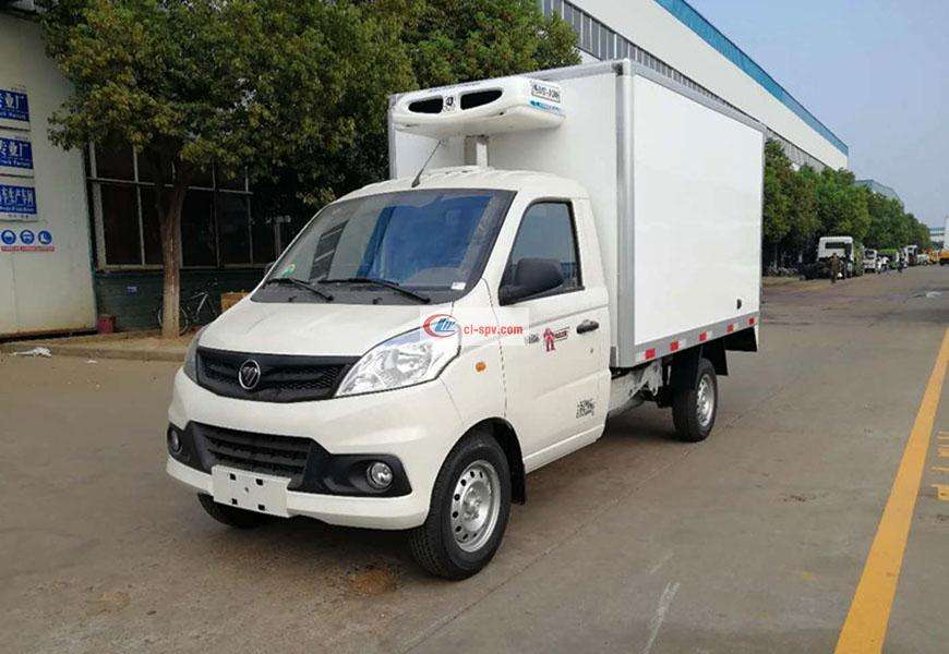 Foton Xiangling refrigerated truck National VI