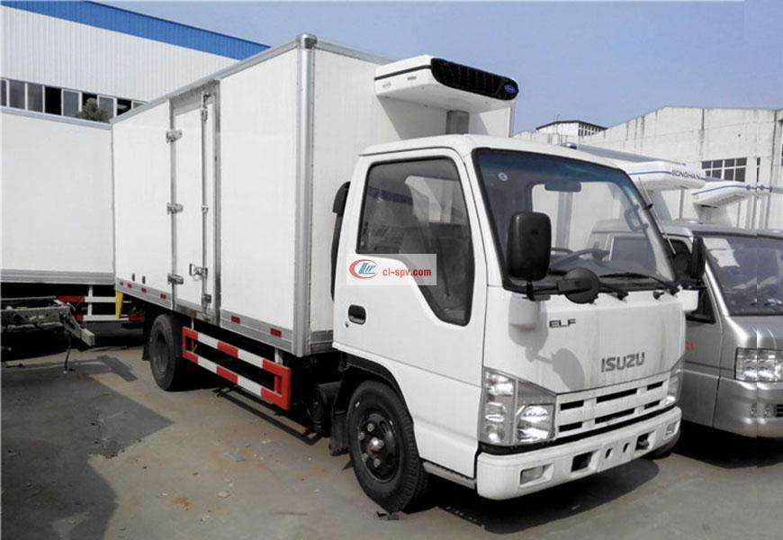 Isuzu refrigerated truck National VI