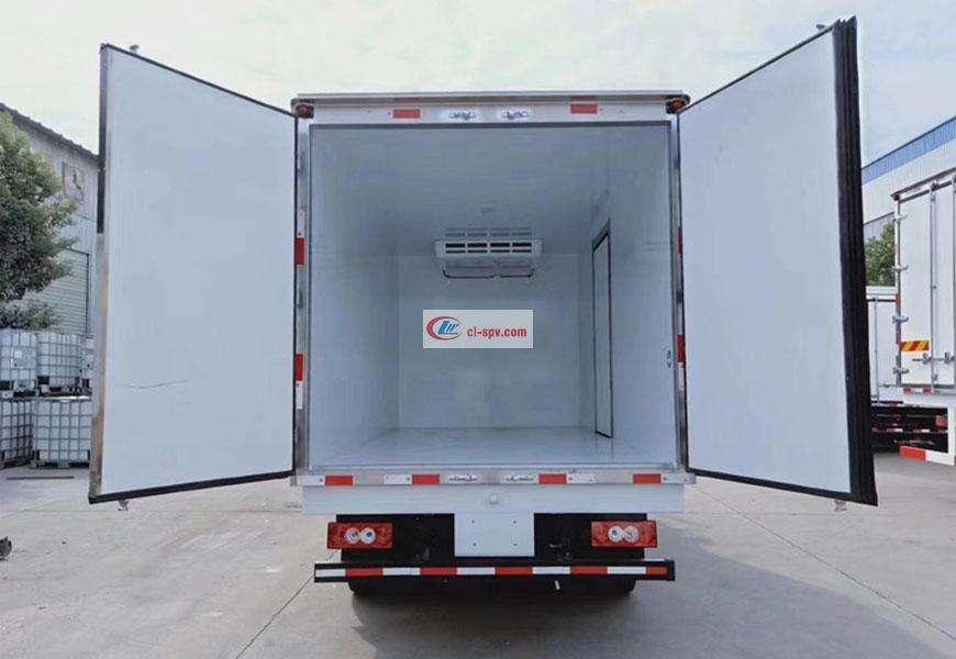 五十铃冷藏车车厢图片