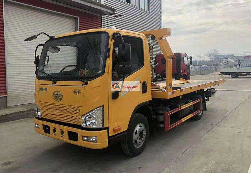 Jiefang J6F One Tow Two Wrecker Truck National Six