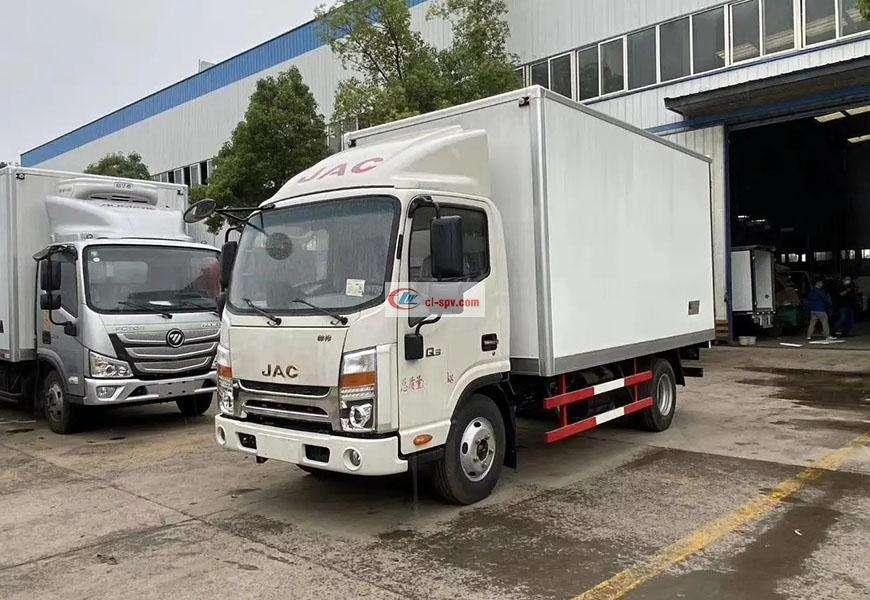 JAC Shuailing Q3 refrigerated truck National VI