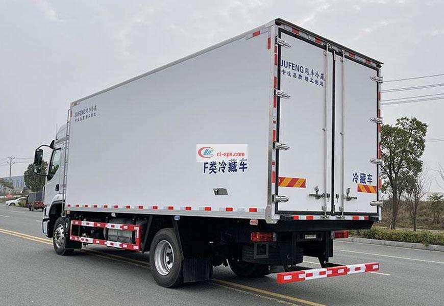 柳汽乘龙6米8冷藏车厢体图片