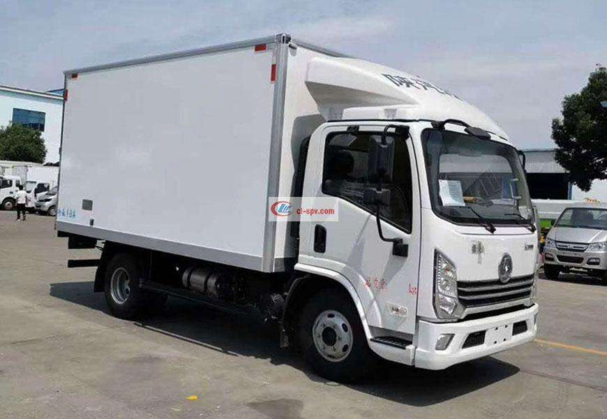 Shaanxi Automobile Delong K3000 refrigerated truck National VI
