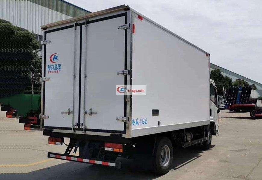 陕汽德龙K3000冷藏车厢体图片