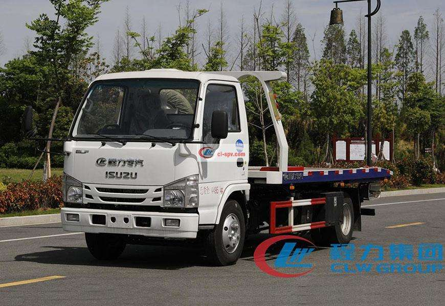 Isuzu 100P One Tow Two Wrecker Truck Country Six