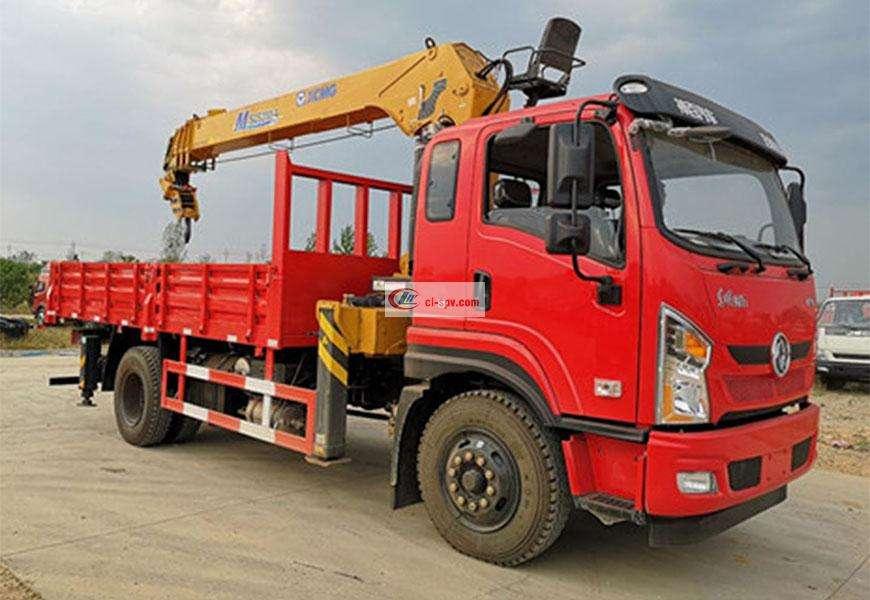 Dongfeng Changxing D1 XCMG Truck-mounted Crane National VI