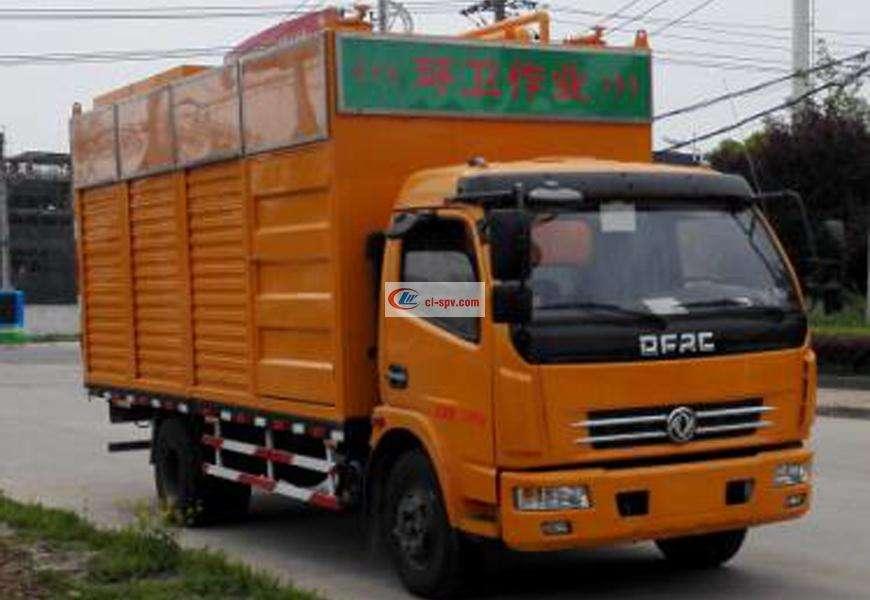 شاحنة شفط وتنقية مياه الصرف الصحي Dongfeng Duolika
