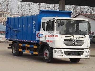 东风压缩式对接垃圾车(CLW5160ZDJD5)