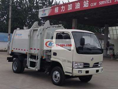 东风蓝牌压缩式对接垃圾车(CLW5071ZDJT5)