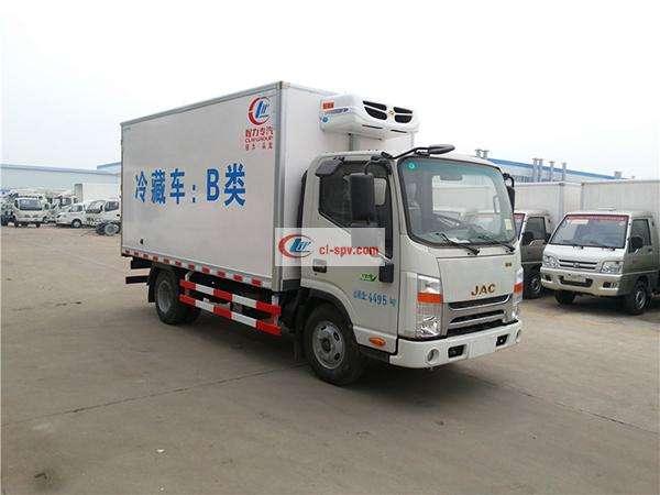江淮帅铃4.08米冷藏车(窄体)