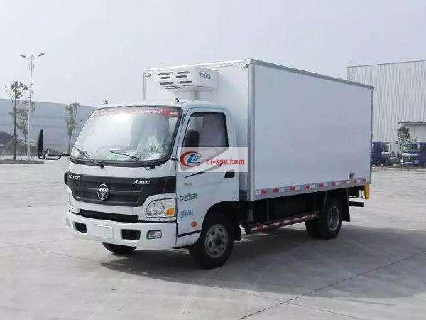 欧马可4.05米冷藏车