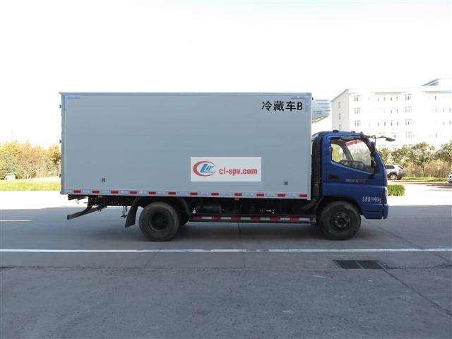 奥铃5.07米冷藏车