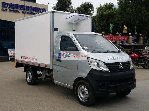 长安欧五排放冷藏车(CLW5020 XLC5)