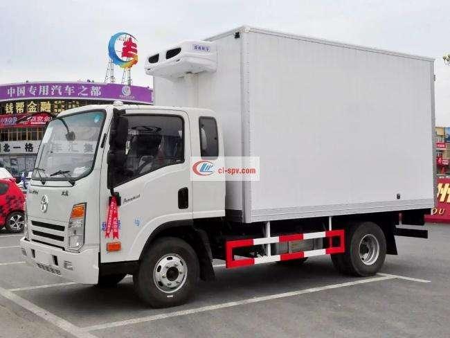 大运3.8米排半冷藏车(CGC5040XLCHDD33E)