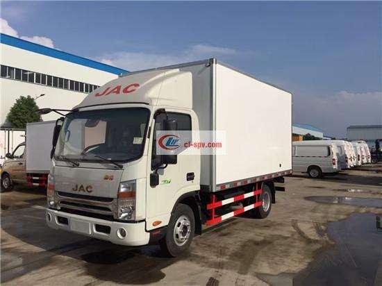 江淮帅铃4.1米厢长(宽窄体)冷藏车(HFC5043XLCP71K1C2V)