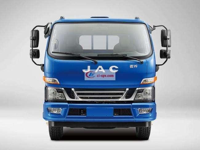 江淮骏铃排半6.2米冷藏车(HFC5141XLCP91K1D4V)