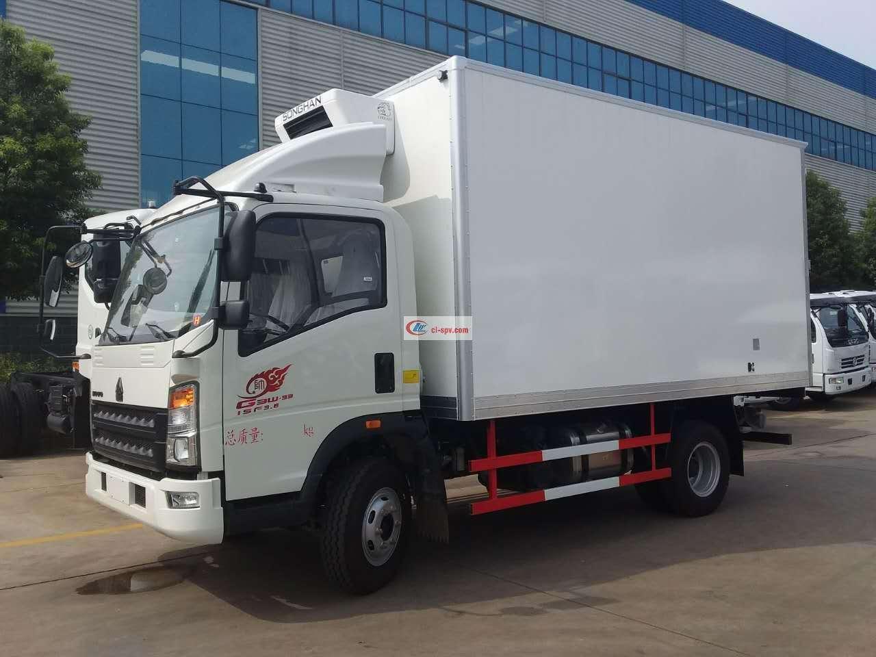 重汽豪沃冷藏车(ZZ5047XLCF341CE145)