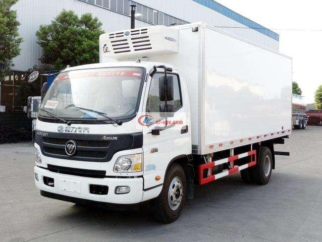 福田欧马可5.1米冷藏车(BJ5089XLC-A1)